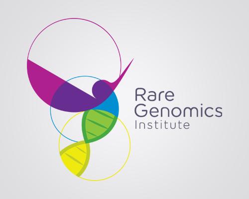 Rare genomics logo