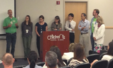 Photo of Wolfram syndrome researchers