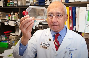 Photo of Dr. Alan Permutt of the Washington University School of Medicine
